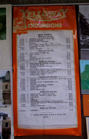 Excursions on offer in 1981
