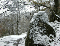 A Winter's Message, Hardcastle Crags (December)