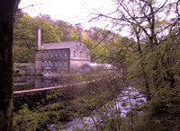 Gibson Mill, Hardcastle Crags (May)