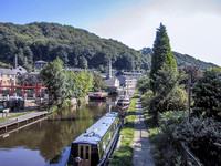 Canal at Hebden Bridge
