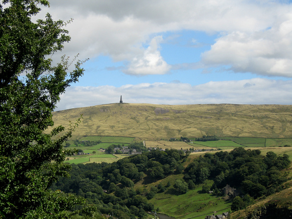 Stoodley Pike from Cross Stone