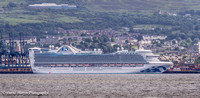 Caribbean Princess - River Clyde