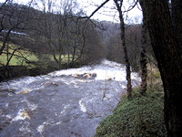 Hebden Water After The Rain (March)